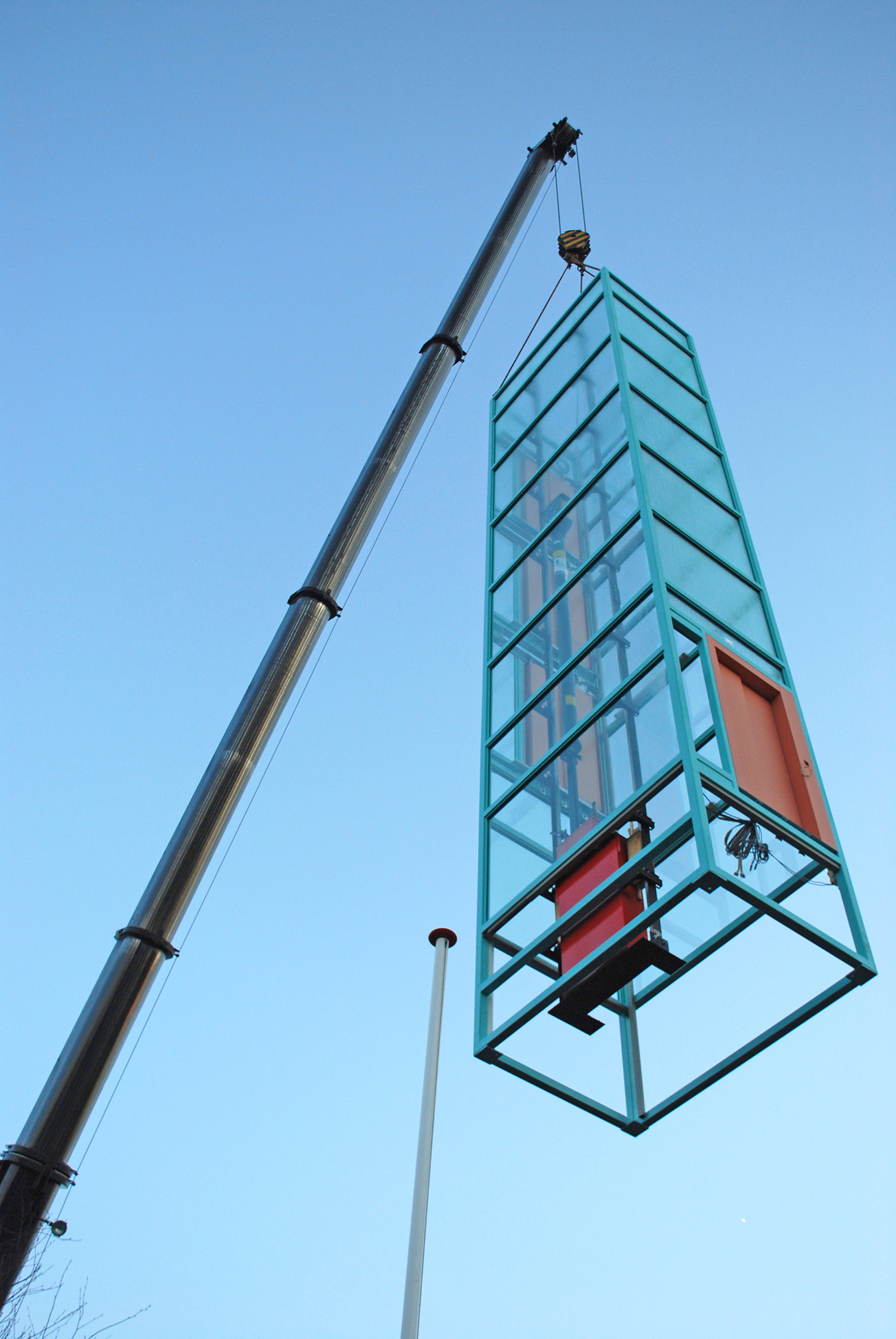 plaatsing lift